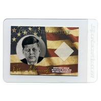 2020  A Word From The President John F Kennedy JFK Handwritten Word & Relic Card