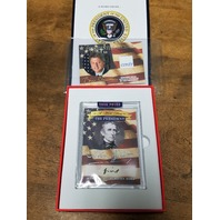 2020 A Word From The President John Tyler Handwritten Word & Bill Clinton Relic