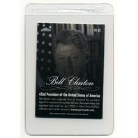 2020 A Word From The President John Tyler Handwritten Word & Bill Clinton Relic