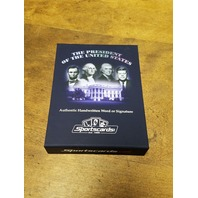 2020 A Word From The President Zachary Taylor Written Word Warren Harding Relic