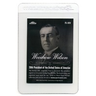 2020 A Word From The President Woodrow Wilson Relic Card