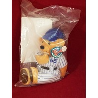 Planet Plush Dugout Series Sammy Sosa 66 Home Runs Beanie Plush Bear NIP