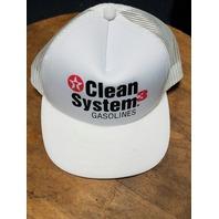 Lot 2 NASCAR Trucker Baseball Caps Quaker State Racing Texaco Clean System Gas