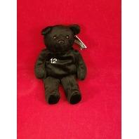 Salvino's Bammers Opening Day Roger Clemens #12 Black Beanie Plush Bear