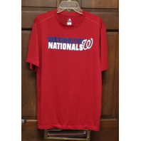 MLB Genuine Merchandise Red Washington Nationals TX3 Cool T-Shirt Men's Size L