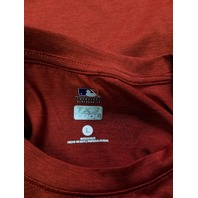 MLB Genuine Merchandise Red Washington Nationals TX3 Cool T-Shirt Men's Size L
