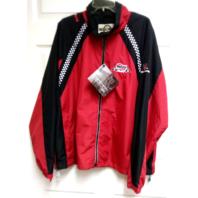 Ruud Racing Kevin Harvick 29 Red Black Full Zip Jacket Size XL NASCAR North End