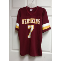 Rawlings Washington Redskins Red Throwback Jersey Shirt #7 Sz L 42-44 Theismann
