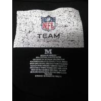 NFL Team Apparel Washington Redskins Black Graphic T-Shirt Size M Football