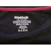 Reebok NFL Team Apparel Women's Washington Redskins Black T-Shirt Size S NWT