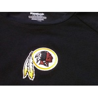 Reebok NFL Team Apparel Women's Washington Redskins Black T-Shirt Size S NWT