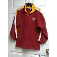 Iron Knights Athletics Washington Redskins 1/4 Zip Pullover Fleece Jacket Sz L