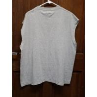 NFL Team Apparel Gray Washington Redskins Sleeveless Muscle Shirt Men's Size XL