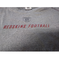 Reebok Play Dry Washington Redskins Gray Long Sleeve Shirt Size XL NFL Football