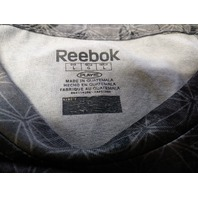 Reebok Play Dry Speedwick Washington Redskins Gray Black Geometric Shirt Size L