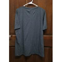 NFL Team Apparel Washington Redskins Gray Graphic T-Shirt Mens Size L NWT
