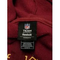 NFL Team Apparel Washington Redskins Red Full Zip Hoodie Jacket Womens Size XL