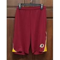 Majestic Washington Redskins Red Activewear Shorts Men's Size M
