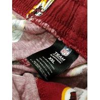 NLF Team Apparel Sleepwear Washington Redskins Red Pajama Lounge Pants 2XL XXL