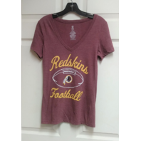 NFL Team Apparel Women's Washington Redskins Heather Red T-Shirt Sz XS Football