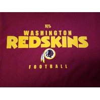 NFL VF Imagewear Washington Redskins Red Graphic T-Shirt Men's Size L Football