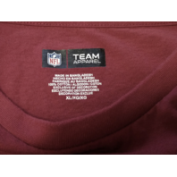 NFL Team Apparel Washington Redskins Red Graphic T-Shirt Men's Size XL Football