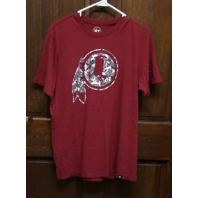 '47 Brand Washington Redskins Maroon Red T-Shirt Men's Size M Medium NFL