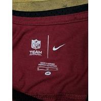 NFL Team Apparel Washington Redskins Red Short Sleeve T-Shirt Women's Size M