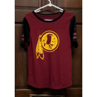 NFL Team Apparel Washington Redskins Red Short Sleeve T-Shirt Women's Size M