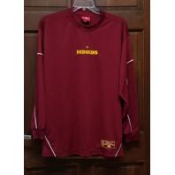 NFL Washington Redskins Red Long Sleeve Activewear Shirt Men's Size 44