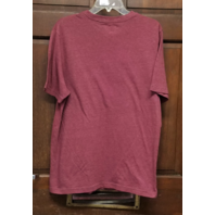 NFL Team Apparel Washington Redskins Heathered Red Graphic T-Shirt Men's Size L