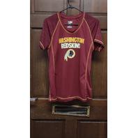 NFL Team Apparel TX3 Cool Red Washington Redskins T-Shirt Women's Size L Large