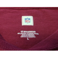 NFL Washington Redskins Red Graphic T-Shirt Size L Football VF Imageware