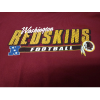 NFL Washington Redskins Red Graphic T-Shirt Size L Football VF Imageware