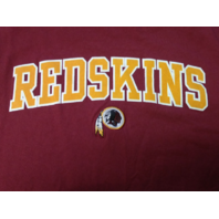 NFL Team Apparel Washington Redskins Red Graphic T-Shirt Men's Size L Football