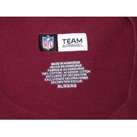 "NFL Team Apparel Washington ""Go Redskins"" Red T-Shirt Men's Size XL Football"