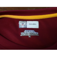 Equipment NFL Cover II Washington Redskins Red Shirt Men's Size XL Football