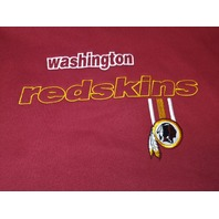 Reebok Washington Redskins Red Sweatshirt Men's Size L Football NFL