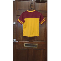 NFL Team Apparel Yellow & Red Washington Redskins T-Shirt Youth Size L 10/12