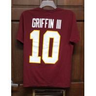 Nike Regular Fit Red Washington Redskins #10 Robert Griffin III RG3 T-Shirt Sz M