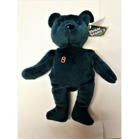 Salvino's Bamm Beano's Cal Ripken #8 Dark Green Beanie Plush Toy Bear