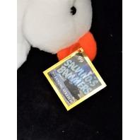 Salvinos Bammers Cal Ripken #8 White 7th Inning Stretch Beanie Plush Toy Bear