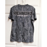 Richmond International Raceway Gray Camo T-Shirt Womens Size S NASCAR