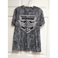 Richmond International Raceway Gray Camo T-Shirt Womens Size S NASCAR