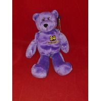 Limited Treasures Randy Moss #84 Purple Beanie Plush Bear Minnesota Vikings