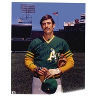 Rollie Fingers 8x10 Photo Autographed TO PAUL Oakland A's MLB