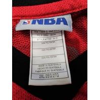 Derrick Rose #1 Chicago Bulls Red Jersey Shirt Size 2XL NBA Adidas