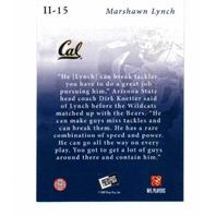 2007 Press Pass SE Insider Insight Collectors Series 25 Card Set Marshawn Lynch