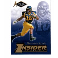 2007 Press Pass SE Insider Insight Collectors Series 25 Card Set Marshawn Lynch