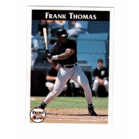 1992 Front Row Frank Thomas Complete 7 Card Set With COA 5153/10000